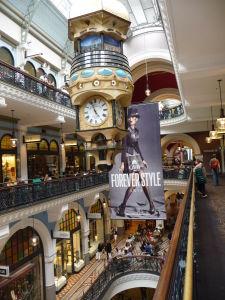 Queen Victoria Building - Bývalá tržnica, dnes luxusný obchodný dom