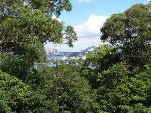 Sydney z druhej strany prístavu