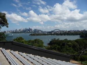 Z hľadiska je výborný výhľad na Sydney