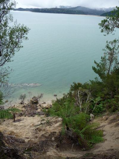Abel Tasman NP - Krištáľovo priehľadná voda na brehoch národného parku