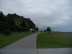Napier - plážová promenáda