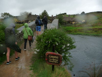 Mostík v Hobbitone