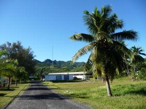 Na ceste okolo Rarotongy