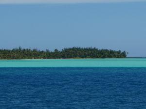 Farba mora na Bora Bora je dokonalá
