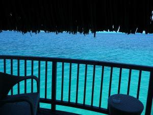 Bungalovy disponujú i balkónikmi s priamym prístupom do vody