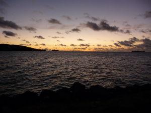 Západ Slnka na Bora Bora