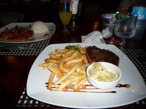 Steak s hranolkami - takmer ako vo Francúzsku