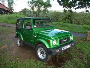 Tahiti - Naše prenajaté auto