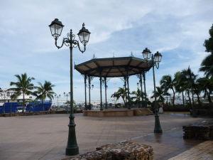 Promenáda v Papeete