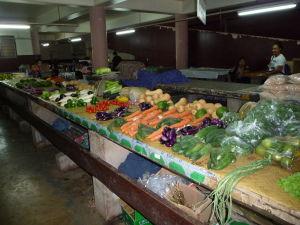 Tržnica Talamahu v hlavnom meste Nuku'alofa