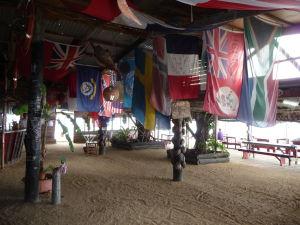 Reštaurácia a bar na ostrove Pangaimotu