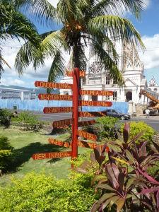 Apia, hlavné mesto Samoy