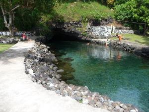 Sladkovodné jaskynné jazierko Piula