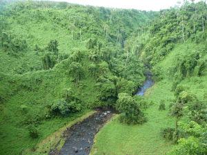 Vodopád Fuipisia - Údolie