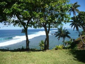 Oceánska priekopa To Sua - Okolie