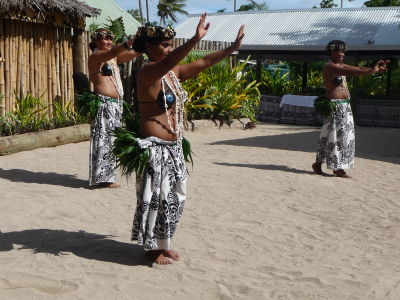 Tradičný tanec Fidži