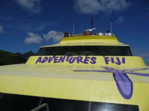 Loď Yasawa Flyer