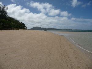 Kokosová pláž na Tavewe