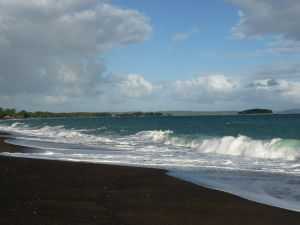 Pláž na Vanuatu