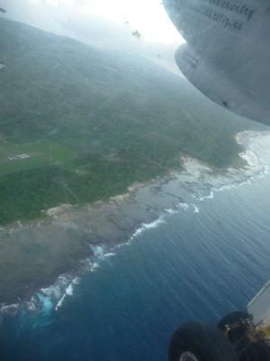 Pobrežie Tanny z vtáčej perspektívy
