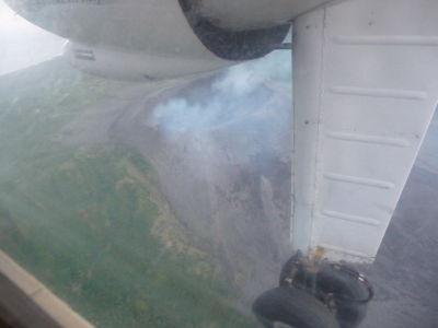 Sopka Yasur zo vzduchu