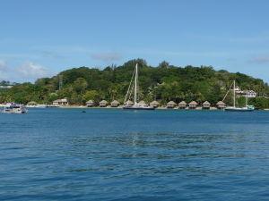 Zátoka v Port Vila