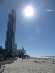 Gold Coast - Pláž