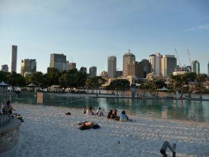Brisbane - Južný breh - Pláž