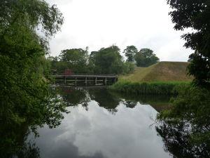 Pevnosť Kastellet - Vodná priekopa