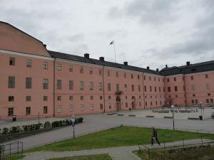 Uppsalský hrad - Hlavné nádvorie