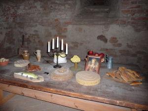 Uppsalský hrad - Hostina