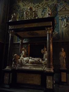 Uppsalská katedrála - Hrob švédskeho kráľa Jána III.