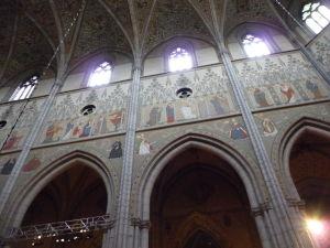 Uppsalská katedrála - Fresky