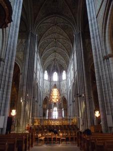 Uppsalská katedrála - Najvyšší chrám v Škandinávii