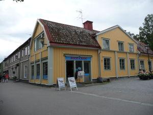 Začiatok ulice Stora Gatan