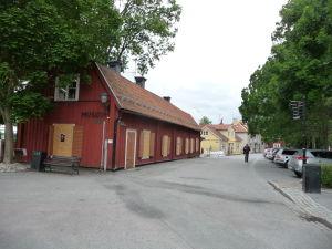 Múzeum na konci uličky Stora Gatan