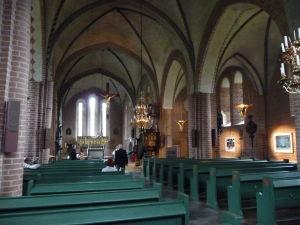 Interiér Kostola sv. Márie