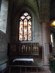Kostol sv. Márie - Stredoveká výzdoba