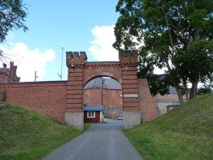 Vstup do pevnosti Häme