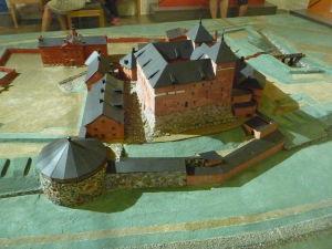 Maketa pevnosti Häme