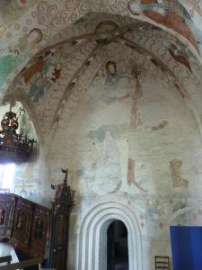 Fresky v Kostole sv. Kríža v Hattule - táto znázorňuje sv. Krištofa - hovorí sa, že v ten deň, keď vidíte obraz sv. Krištofa, nemôžete zomrieť. Takže sa stači každý deň o polnoci naň pozrieť a nesmrteľnosť je vaša