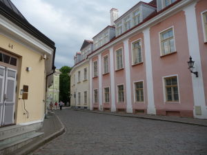 V uličkach starého mesta Tallinnu