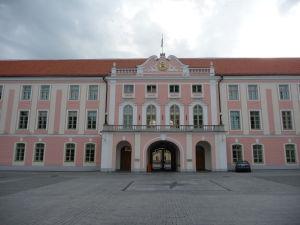 Zámok Toompea, dnes sídlo parlamentu