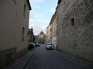 V uličkách starého mesta Tallinnu