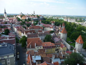 Výhľad z veže Kostola sv. Olafa
