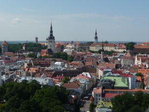 Takýto výhľad na centrum mesta si vychutnávali súdruhovia z KGB