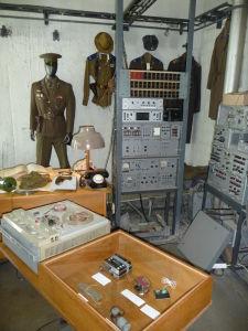 Jedna z miestností štábu KGB v hoteli Viru
