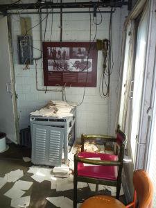 Táto miestnosť bola ponechaná presne v tom stave, v akom ju príslušníci KGB zanechali