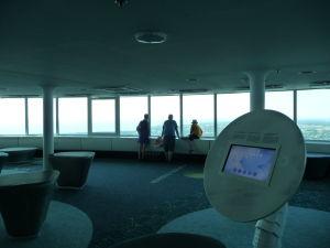 Vyhliadka TV veže je plná interaktívnych zariadení