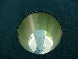 Vyhliadka TV veže je vo výške 170 metrov